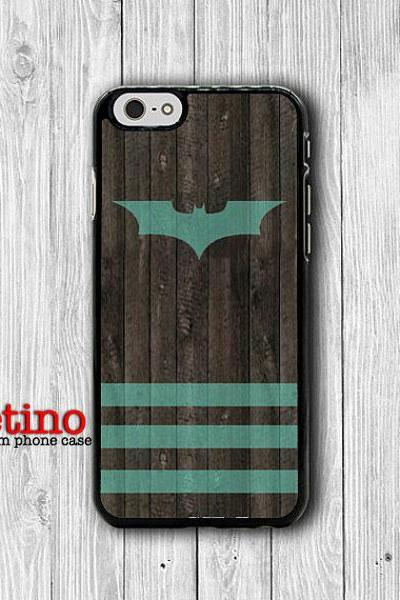 iPhone 6 Case Bat Wooden Mint Paint iPhone 6 Plus, iPhone 5S, iPhone 5 Case, iPhone 5C Case, iPhone 4S Case, iPhone 4 Abstract Colored Gift#1-94