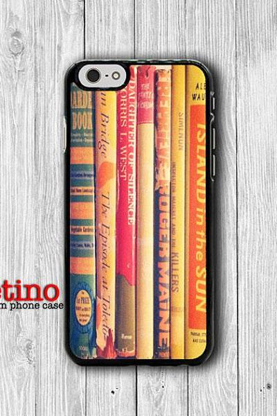 Vintage Book Novel Art Phone Cases iPhone 6/ 6S iPhone 5/ 5S/ 5C Accessorie Electronics Cases Sepia Phone Cover Christmas Present For HER#1-122