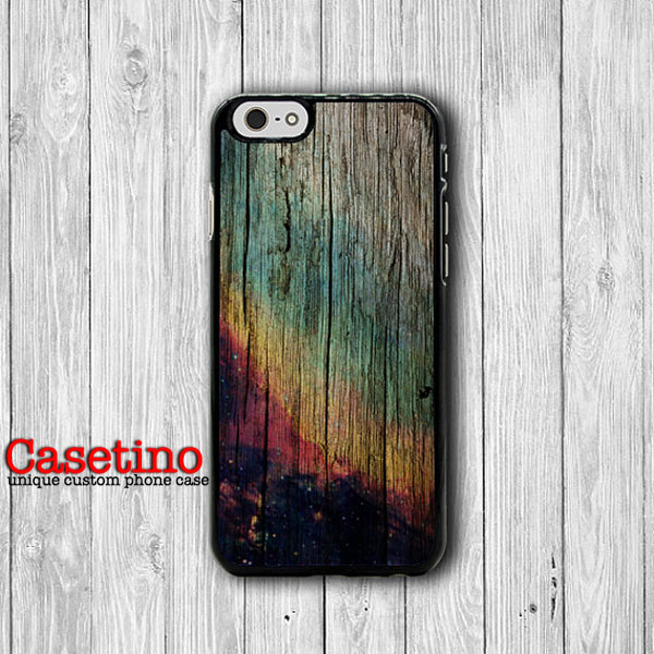 HIPSTER WOOD Burn Art Galaxy iPhone 6 Cases iPhone 6 Plus, iPhone 5/5S Case, iPhone 5C Case, iPhone 4/4S Case Wooden Printed Christmas Case#1-134
